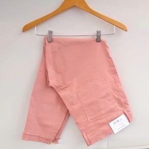 NWT LOFT Modern Skinny Frayed Hem Skinny Jeans